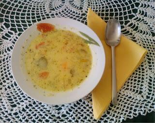 Zupa ogórkowa z... patatami