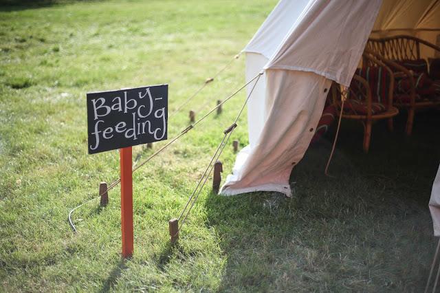 baby feeding tent