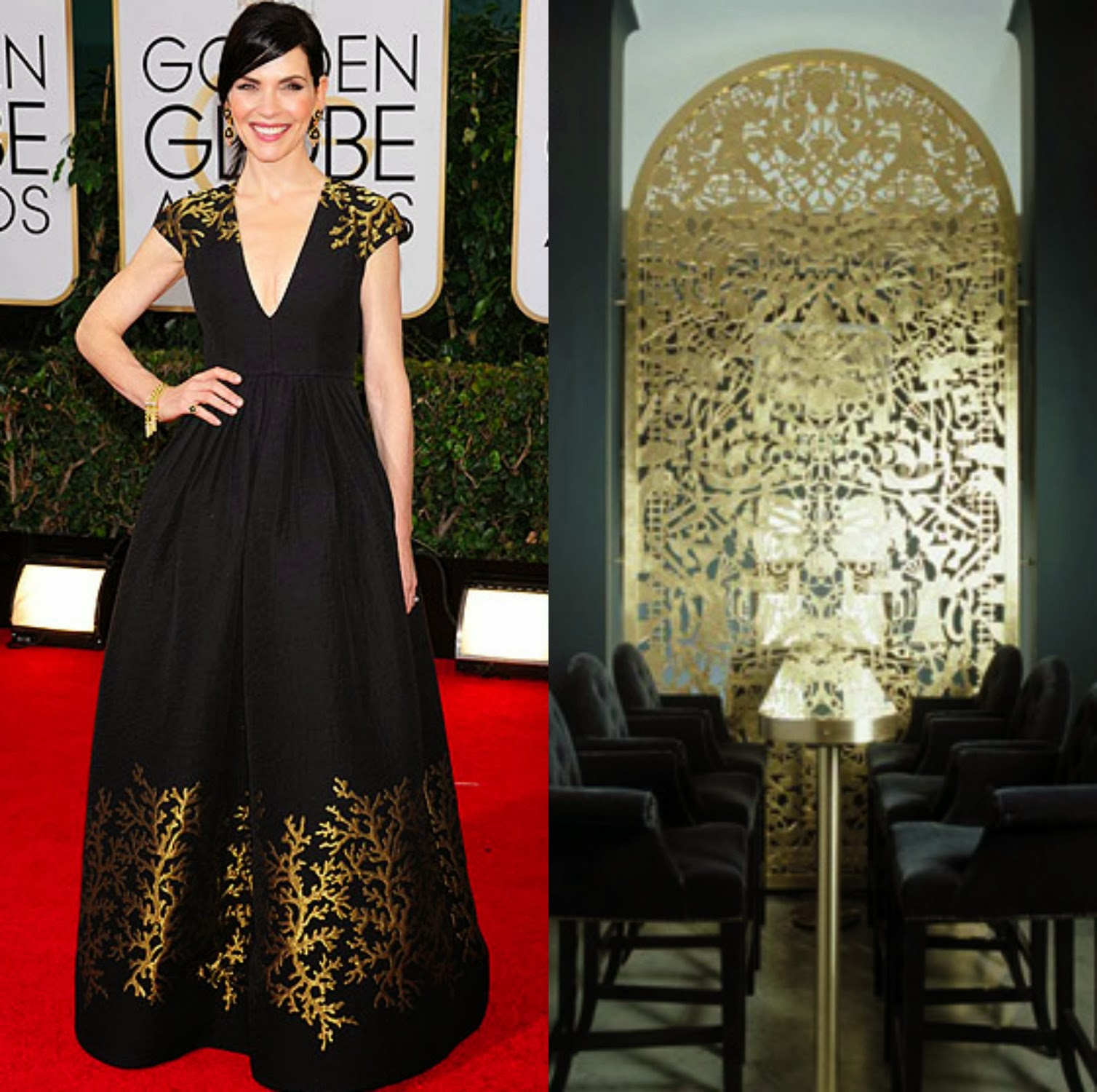 Julianna Margulies Golden Globes 2014