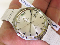 TITONI SPACE STAR WHITE SILVER DIAL - AUTOMATIC