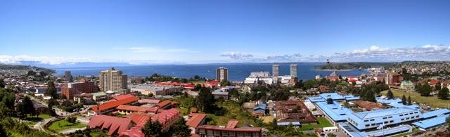 Vistas desde el Mirador Puerto Montt