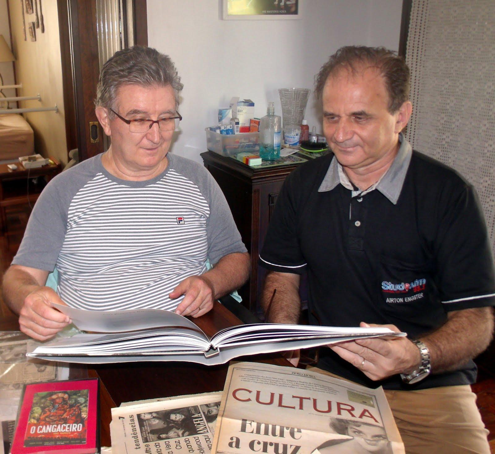 Airton Engster dos Santos e Roque Schwertner