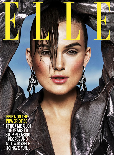 Actress, Model @ Keira Knightley by Paola Kudacki for Elle US, September 2015