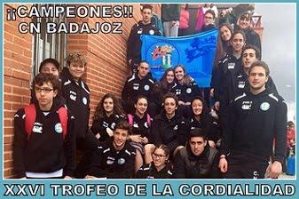 XXVI Trofeo de la Cordialidad.