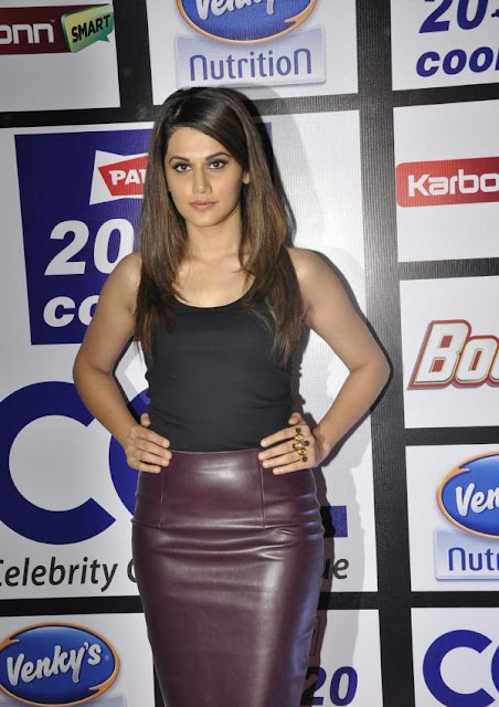 Taapsee Pannu at Celebrity Cricket League 6 Launch Event