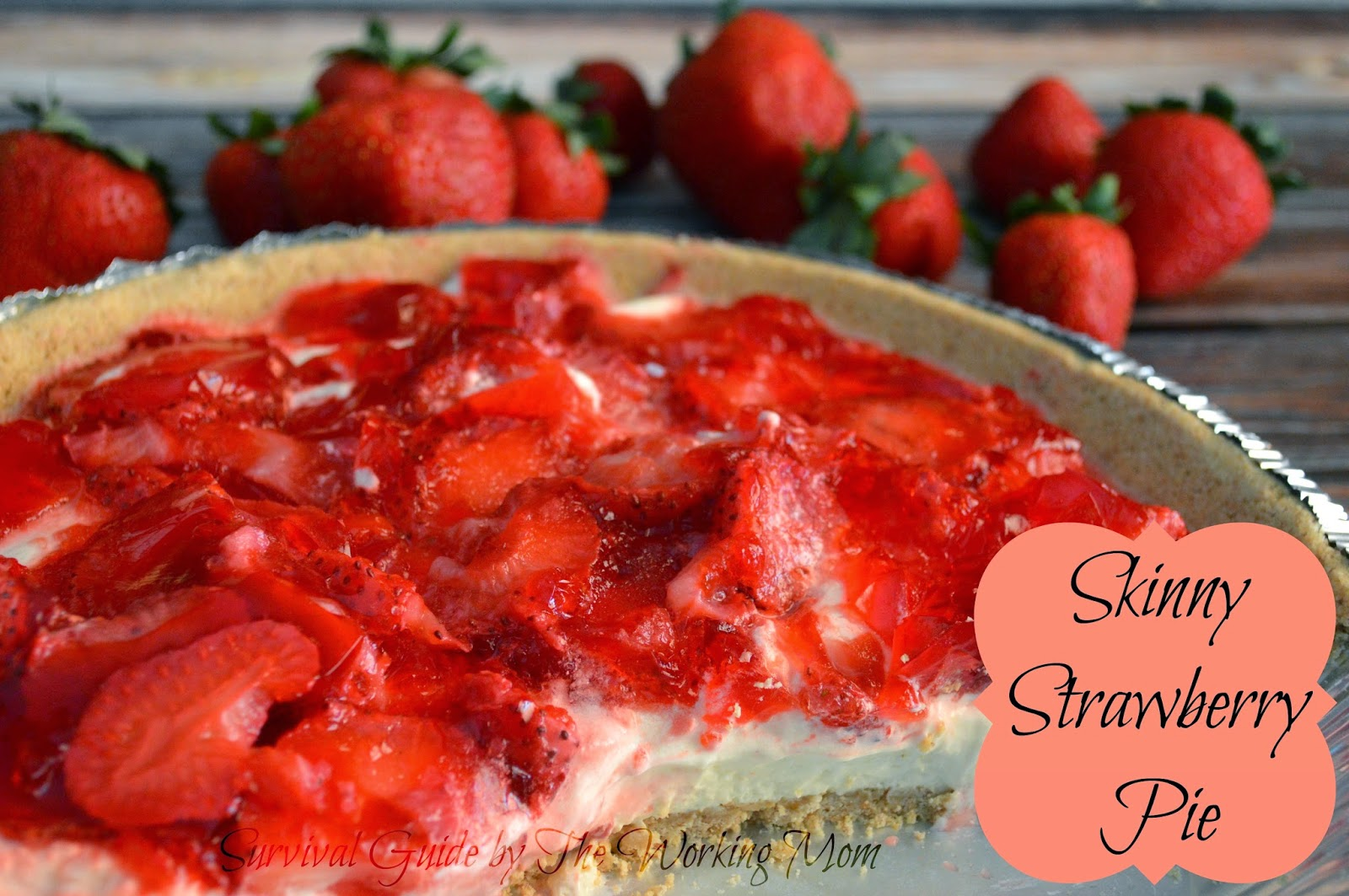 A Summer Menu Inspired by The Hundred Foot Journey: Skinny Strawberry Pie Recipe