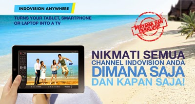 Paket Indovision Anywhere