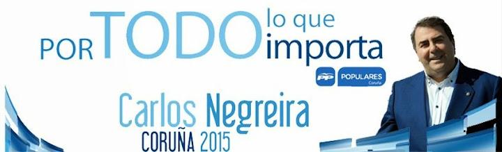 La web de Carlos Negreira