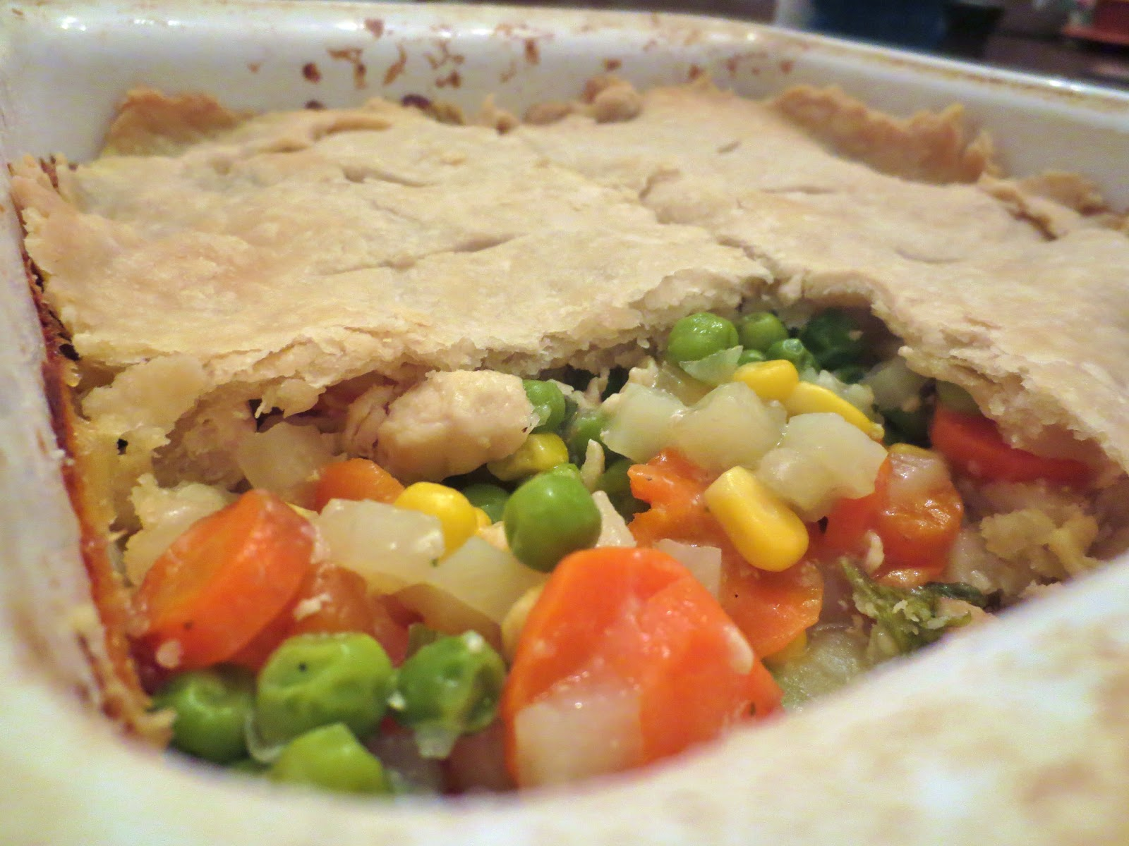Princesses, Pies, & Preschool Pizzazz: Monday Meals: Chicken Pot Pie