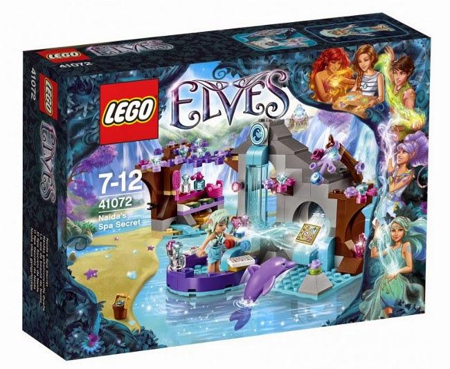 JUGUETES - LEGO Elves  41072 El Spa Secreto de Naida  Producto Oficial 2015 | Edad: 7-12 años