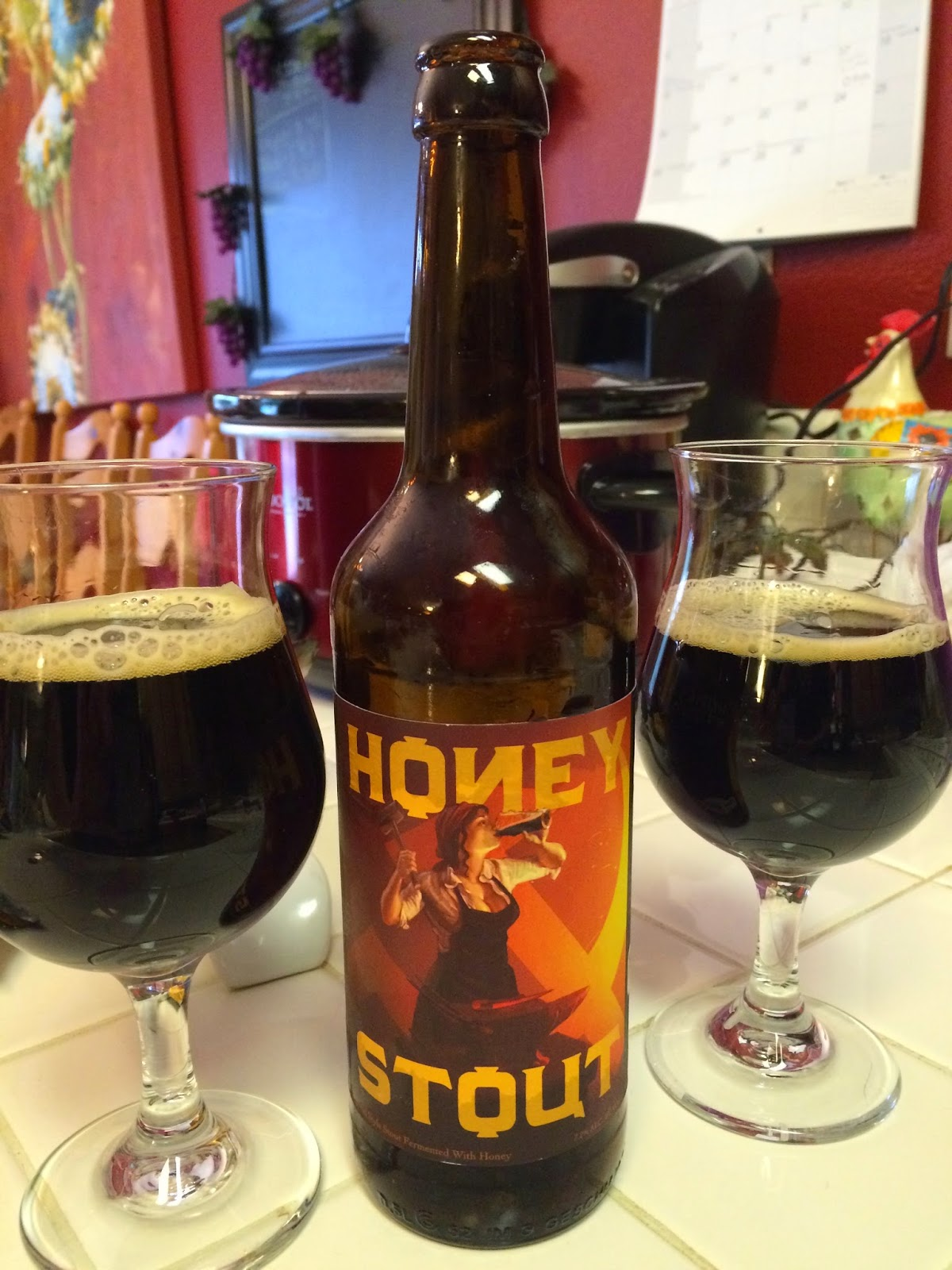 Red Branch Honey Stout 1