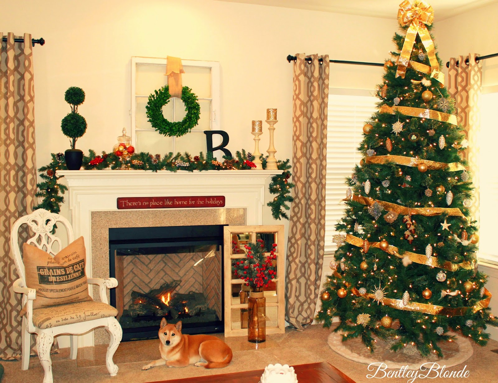 Bentleyblonde House Tour Updated Holiday Home Decor