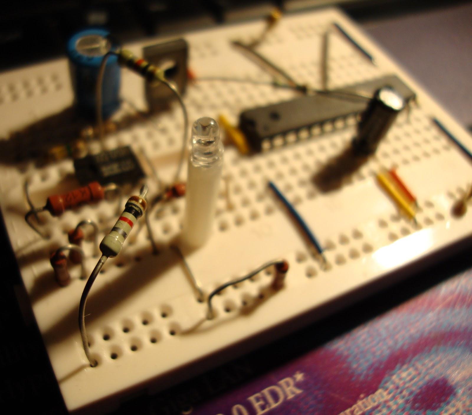 датчик скрытой проводки схема со светодиодом