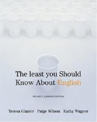 The least you should know about english , english writing  books , writing help