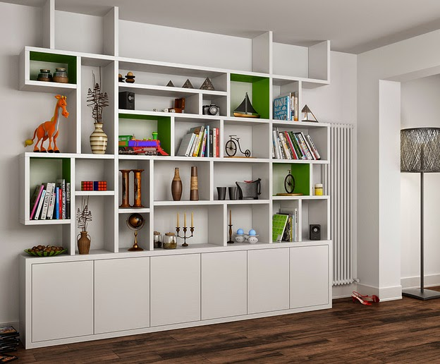 Urban Wardrobes, Fitted Furniture, Modern, fitted bookcase