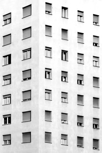 architecture, photography, black and white, repeat, modular picture, modular photography