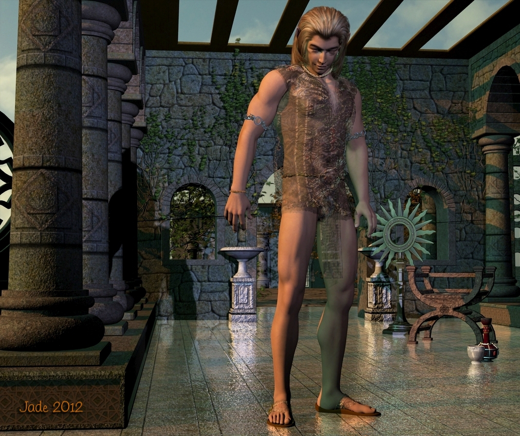 3D yaoi  Gorgeous Yaoi elf, at any rate -- and a lot more.