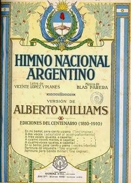 HIMNO NACIONAL ARGENTINO. Fiesta 11 de Mayo