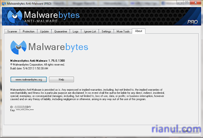 Malwarebytes Anti-Malware 1.75 Pro + License Key