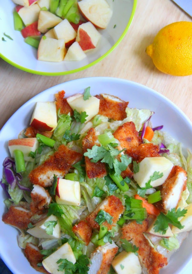 Food and the City: Crispy Chicken Apple Salad