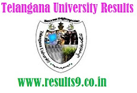 Telangana University UG Results 2013