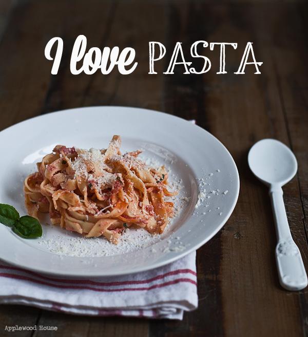 Fettuccine Ricotta Tomate Pasta