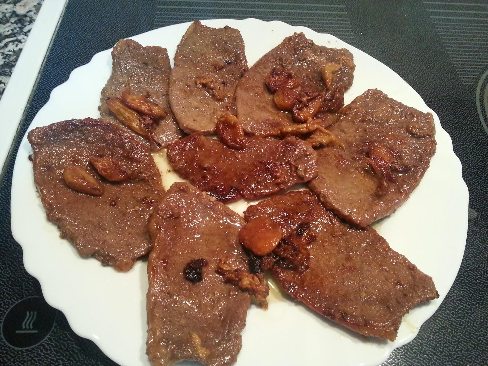 Recetas de toda la vida cocinar sencillo como me ense for Cocinar filetes de ternera