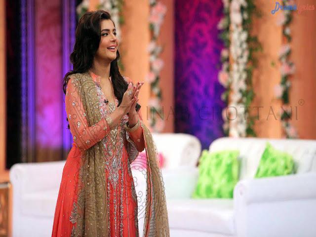 Nida Yasir Beautiful Smiles Pics And Wallpapers