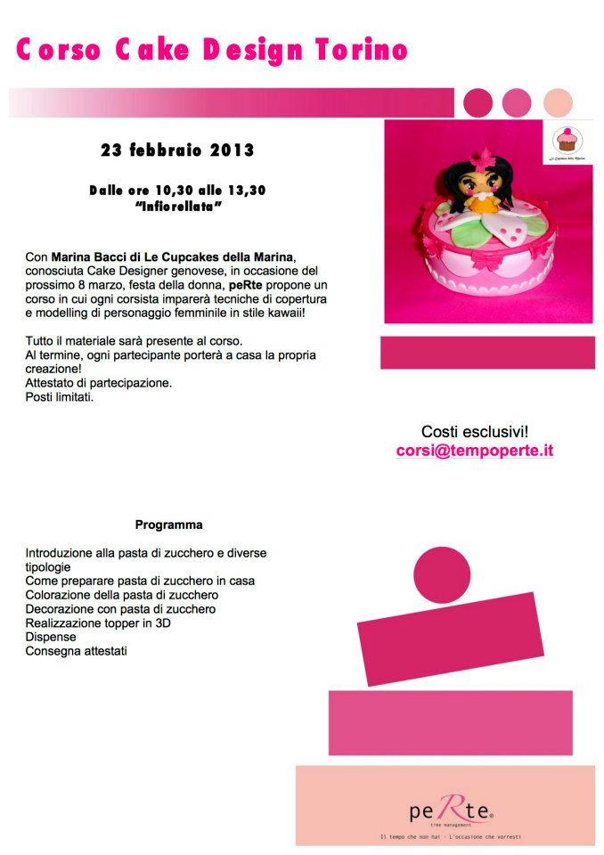 Le Cupcakes della Marina: Corso Cake Design Torino 23 ...