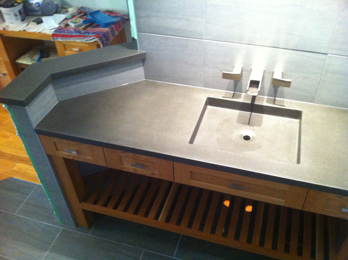 SQUARE PRAIRIE Shallow Modern Square Sink