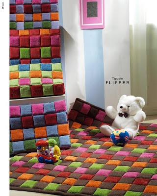 Tappeto bambini love orsetto sole free color tappeti cuscini copridivani articoli tessili - Tappeti anallergici ...