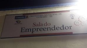 SALA DO EMPREENDEDOR EM CUMARU