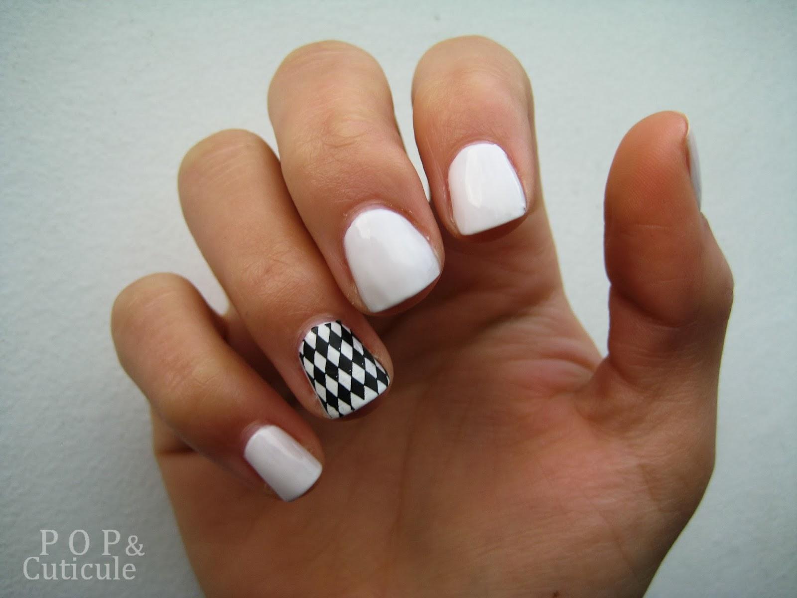 Pop & Cuticule, Bright White Picture Polish