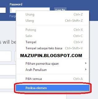 Cara Mengetahui Password Facebook Teman