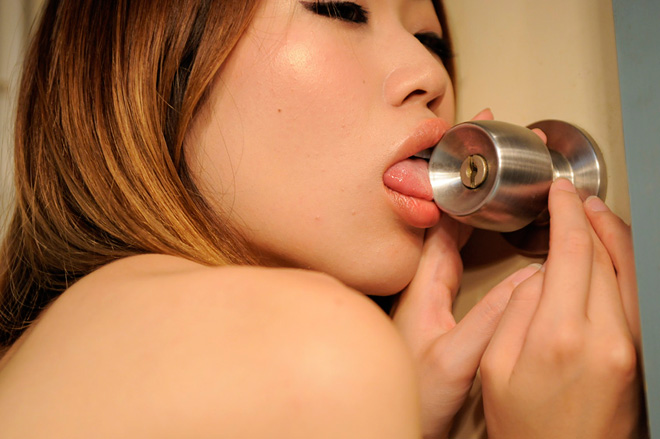 Doctor Ojiplático. DoorKnob Licking Girls. Fetichismo Nippon.