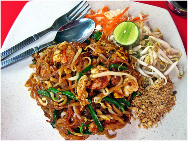 Shrimp Pad Thai - Best Thai Food