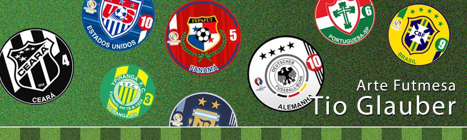 Tio Glauber - Artes para futebol de botão