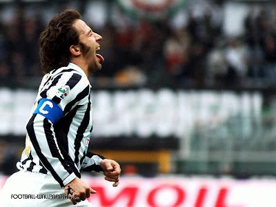 Del piero Juventus Goal Celebration