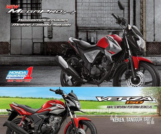 Penjualan Motor Honda Naik 15%