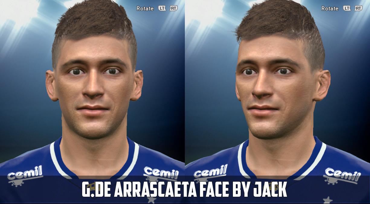 PES 2015: De Arrascaeta - Cruzeiro