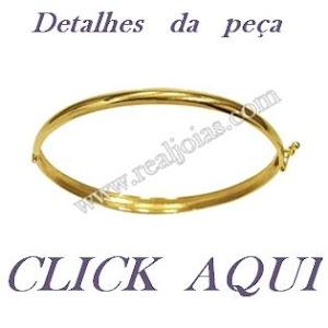 BRACELETE DE OURO-REAL JOIAS-Mandaguari-pr