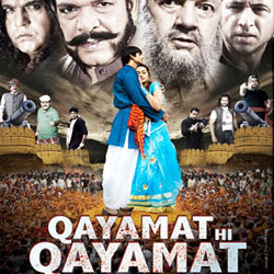 Qayamat Hi Qayamat (2012 - movie_langauge) - Prakash Sagar, Ester Noronha, Upasna Singh, Govind Namdev, Zakir Hussain, Prem Chopra, Puneet Issar, Arun Bakshi, Mushtaq Khan, Aryan Vaid, Sambhavna Sheth, Jugal Kishore, Kalpana Mathur, Gracy Singh