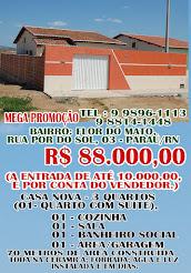 CASA NOVA-PARAÚ/RN