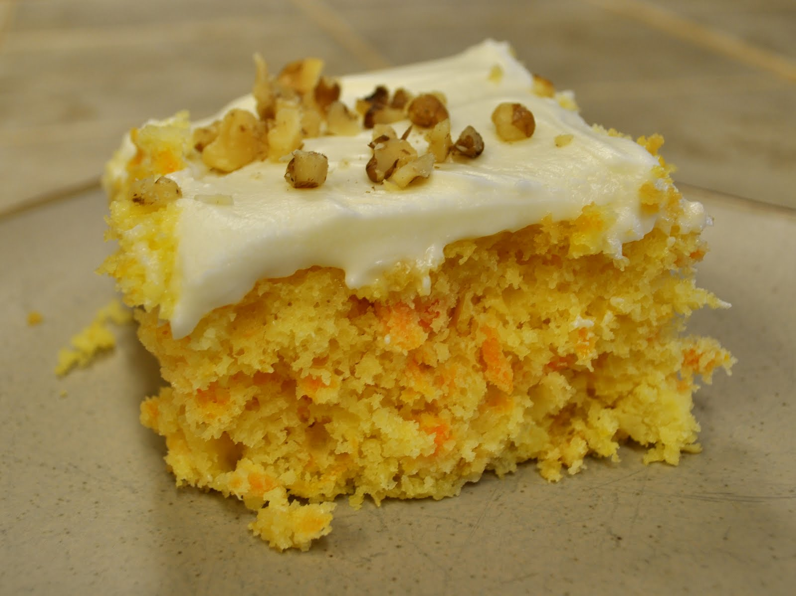 Carrot Pineapple Cake I Recipes — Dishmaps