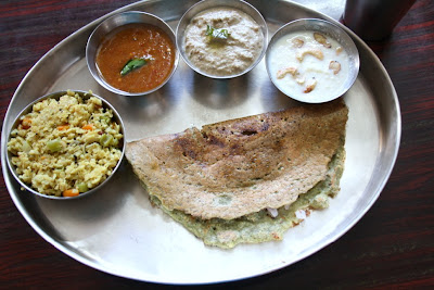 Oats Upma ~ Breakfast Thali