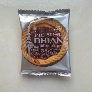Pie Susu Dhian Jalan Nangka