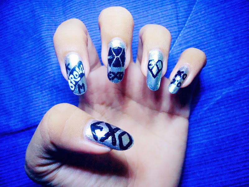 ♥ CC\'s NAILS ♥: We are one, We are EXO