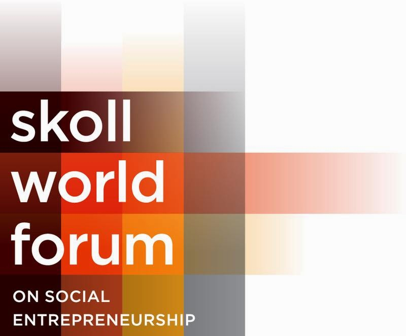 Logo for the Skoll World Forum on Social Entrepreneurship.