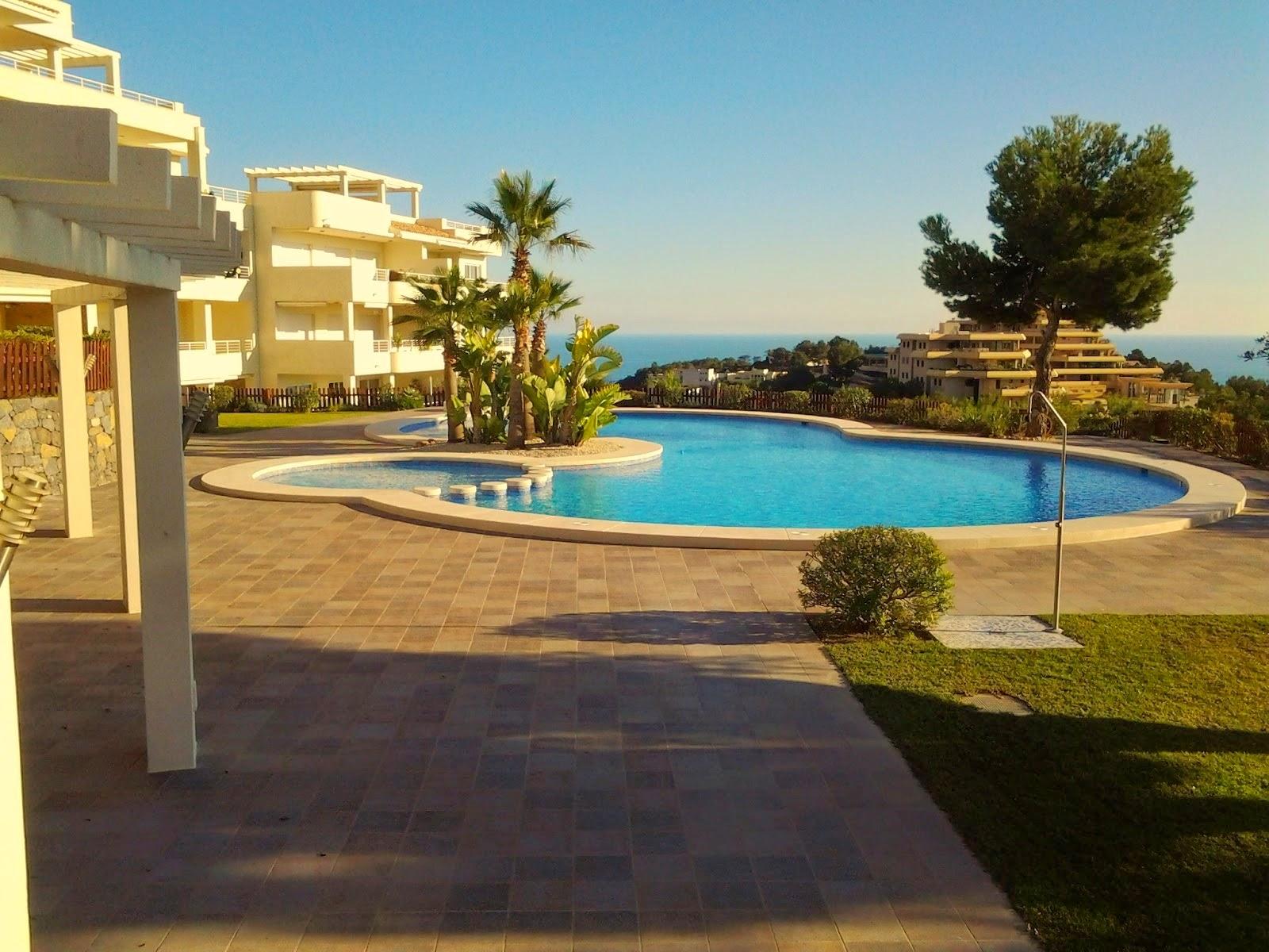 Geniet van uw vakantie in het spaanse altea zwembad en tuin for Afmetingen zwembad tuin