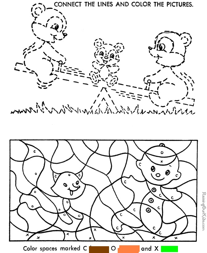 Colour By Number Esl : Teaching esl materials and more: color by number pages